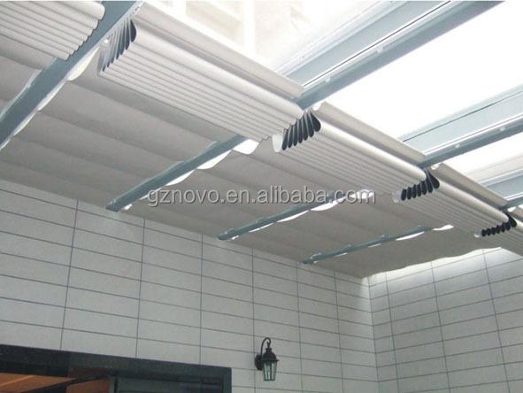Nica hoja de techo tragaluz cochera para cortinas de la ventana de persianas motorizadas - Cortinas para tragaluz ...
