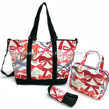 mam48 The butterfly printing bag Handbag For Lady Big Size