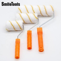 Smiletools 8 in 1 Easy Paint Filled Roller Cover Best Paint Roller For Smooth Finish