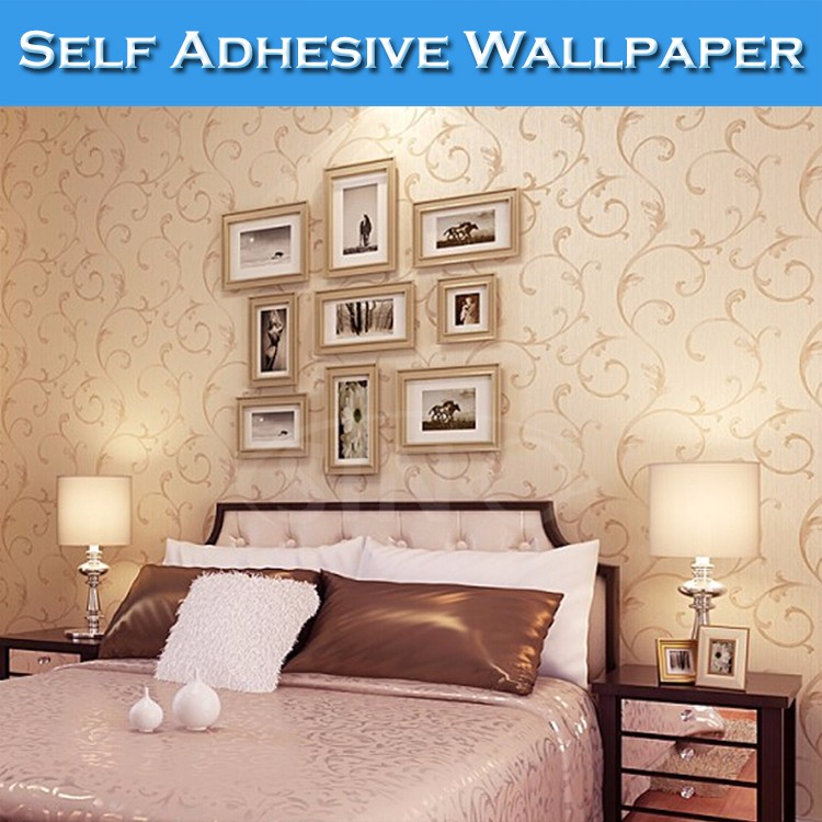 SINO Waterproof Wall Design Wallpaper Vinyl Sticker Paper Rolls