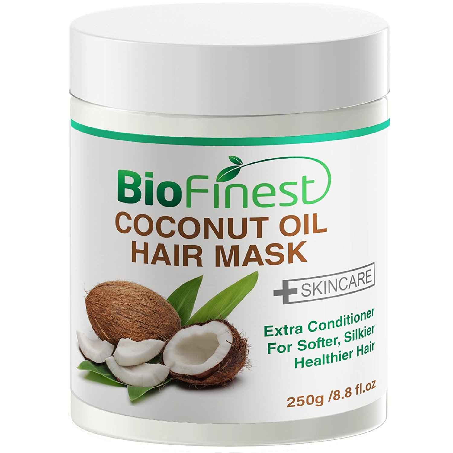 Buy Biofinest Coconut Oil Hair Mask With 100 Organic Shea Butter