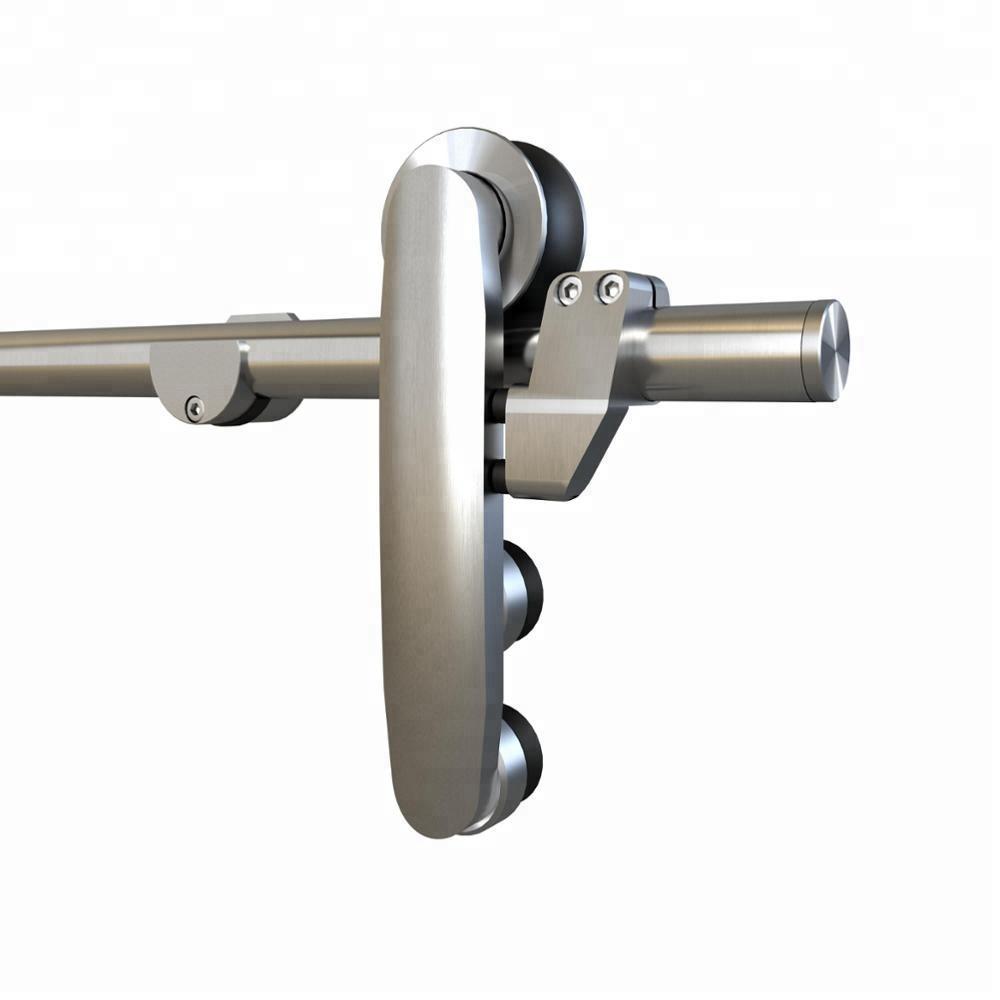 Stainless Steel Glass Sliding Barn Door Hardware Buy Sliding Barn
