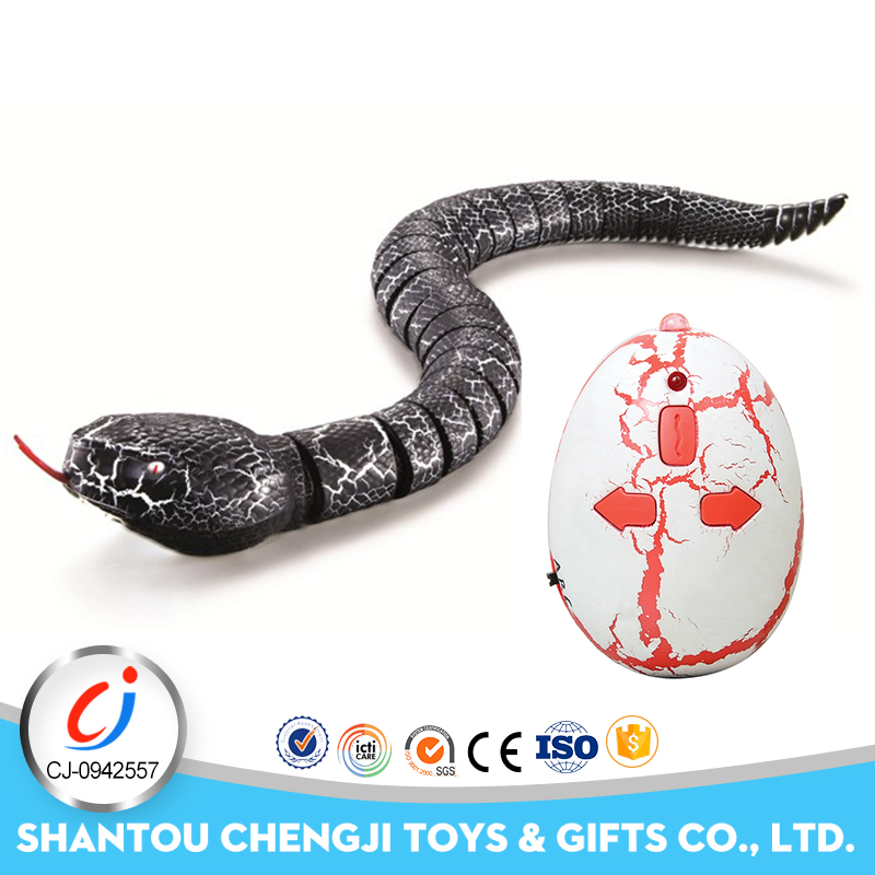 2017 New products simulation animals kids rc novelty electronic snake toy