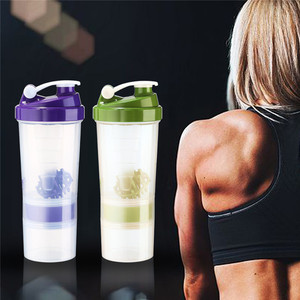 Most popular products 500ml sport plastic protein gym shaker bottle