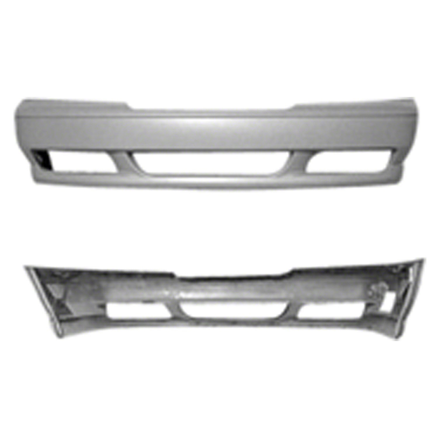 Crash Parts Plus Primed Primed Front Bumper Cover for 98-00 Volvo S70 VO1000130