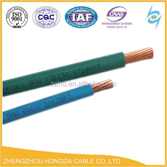 China House 600v Tw Thw Wire Pvc Insulated Cable - Buy Thw Wire,Thw ...