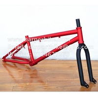 Good quality 20 inch bmx frame chromoly 4130 fork