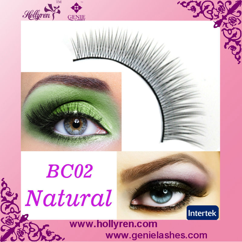 Bulk Selling Korea Fiber False Eyelash False Natural Eye Lashes