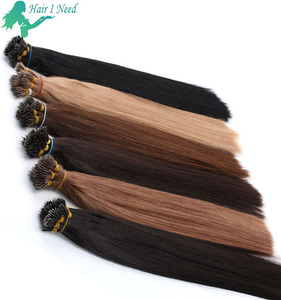 20inch 1g 0.8g 100g per pack 8a grade 100 virgin wholesale malaysian remy i tip hair