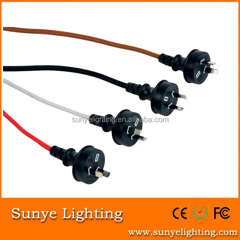 High quality electrical wire with switch and plug plug and play tv gun games
