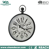 80cm antique brass regulator Chinese wall ball hanging clock , 24 hour analog art deco wall clock 3 piece