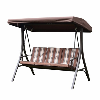 3 Seat Outdoor Porch Swing With Canopy Patio Swing Furniture patio swing chair  sc 1 st  Alibaba & 3 Seat Outdoor Porch Swing With Canopy Patio Swing Furniture Patio ...