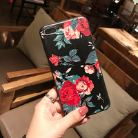 Custom UV Printing 3D For iPhone 6/6s/7/7plus/8/8plus/X/XR/XS Max/ XS 2MM Black TPU OEM ODM Mobile Cell Phone Cases