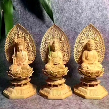 Chinese wholesale handmade wood gifts buddha wood wooden buddha carving