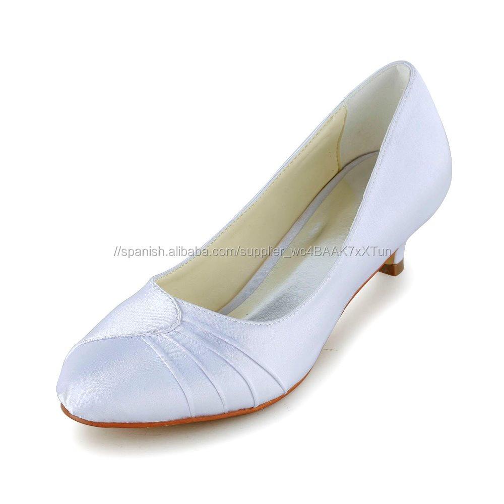 Caliente Blanco Mujer De Zapatos Usados Boda Para Venta Tacón deroQCBWx