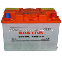 high quality 12V 180Ah Dry Charged Car Battery