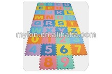 10x Baby Kid Toddler Soft EVA Foam Bowknot Play Floor Puzzle Crawl Mat