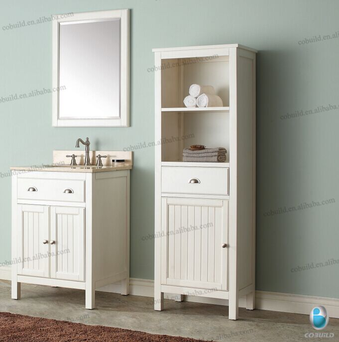 Wonderful Art 48 Inch Traditional Bathroom Vanity Cabinet Birch Wood