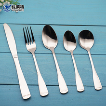 set flatware vintage long handle cutlery stainless
