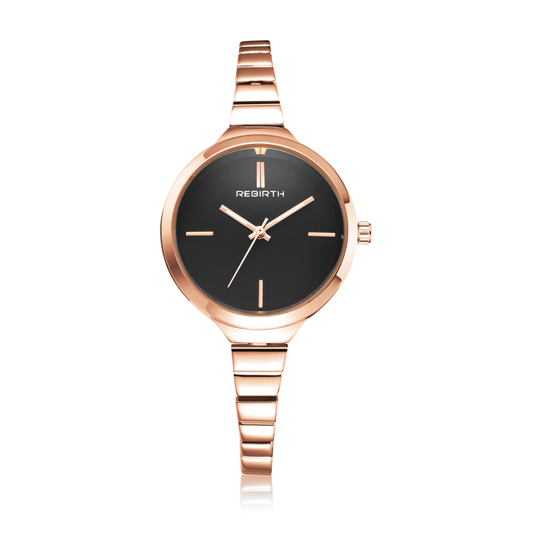 35f5f83d67a Re 056 Mulheres Relógio Marca De Design De Moda Simples Feminino Quartz  Relógio De Ouro À Prova D  Água De Aço Inoxidável Relógios Vestido Prata -  Buy ...