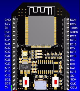 Leads To All Io Port Esp32 Wifi Dual Core Development Board - Buy Esp32  Wifi Dual Core Development Board,Leads To All Io Port Esp32,Cheap Bluetooth