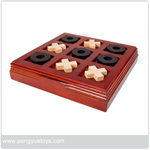 tic-tac-toe wooden chess box XO PY5234