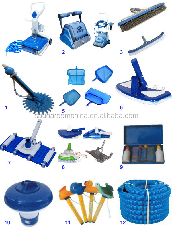 Water Pump And Water Filtration Pool Accessories Whole Set