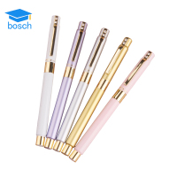 Luxury heavy cheap price hot sale golden nib fountain pen