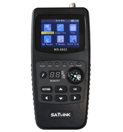 Handheld Digital Tv Dvb S Satlink Satellite Dish Strong Signal Finder From  China - Buy Satellite Signal Finder Meter,Digital Tv Signal Finder,Dvb-s