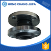 Pipeline hydraulic pump ball type expansion joint with efficient shock absorption
