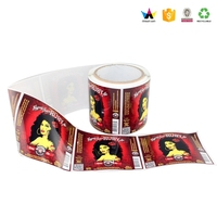 Hair Extension Labels Self Adhesive Stickers