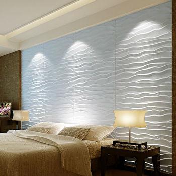 3d Effect Wave Design Mdf Board For Business Buy 3d Wave