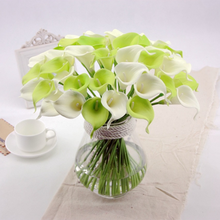 2016 names of flowers used for decoration silk wholesale artificial calla lily