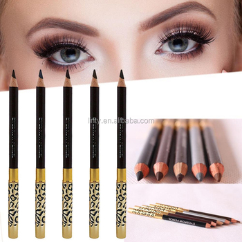 OEM Leopard Women Eyebrow Pencil Waterproof eyebrow Pencil With Brush Makeup  Eyeliner EyeLiner tattoo eyebrow Makeup 08ff70292