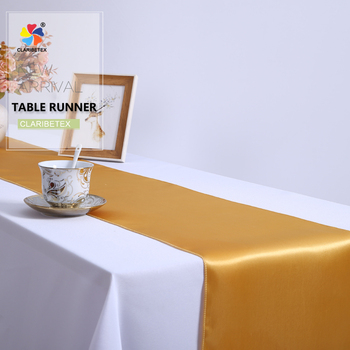 Quality Design CLARIBEL TEX Satin Disposable Paper Laser Cut Felt Table  Runner