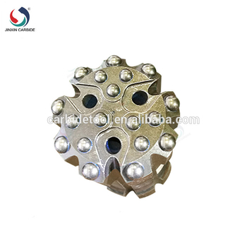 Best price ISO9001 certificated High Quality Taper rock drill 38mm 7 button bits tapered chisel drill bit