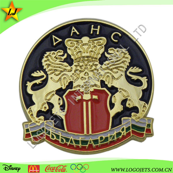 High Quality and 3D Chrome Badge metal soft enamel car emblem
