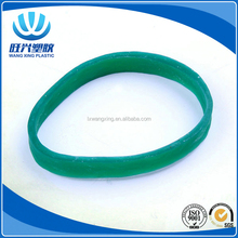 Customized cheap multi colored wide natural 5mm rubber bands for vegetable, agriculture