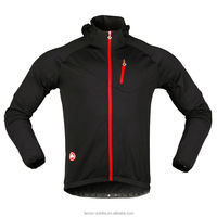 wind stop cycling fleece jacket