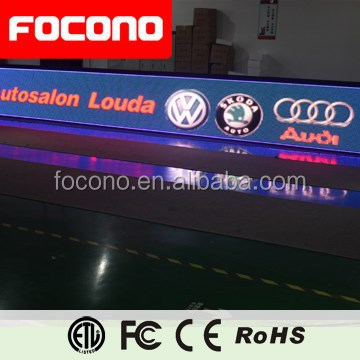 Hot-sale football stadium advertising outdoor led banner board