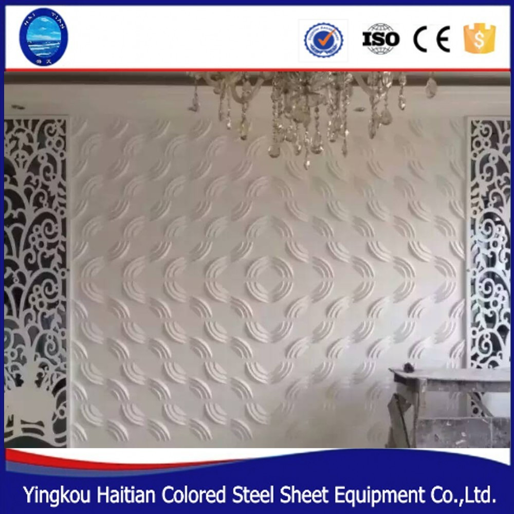 Interieur tv achtergrond decoratieve muur panel Lichtgewicht 3D ...