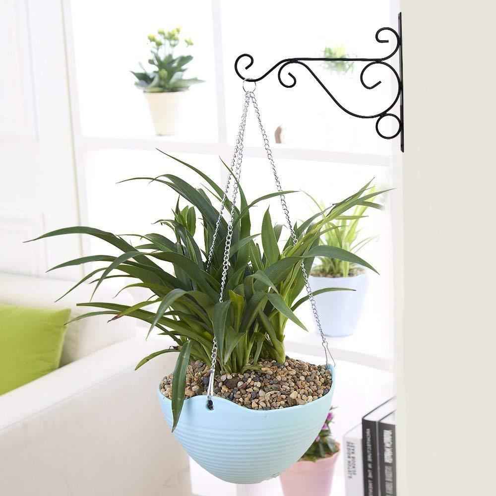 Get Quotations 14 X 11 Indoor Outdoor Metal Iron Wall Brackets Garden Hanging Plant Hooks