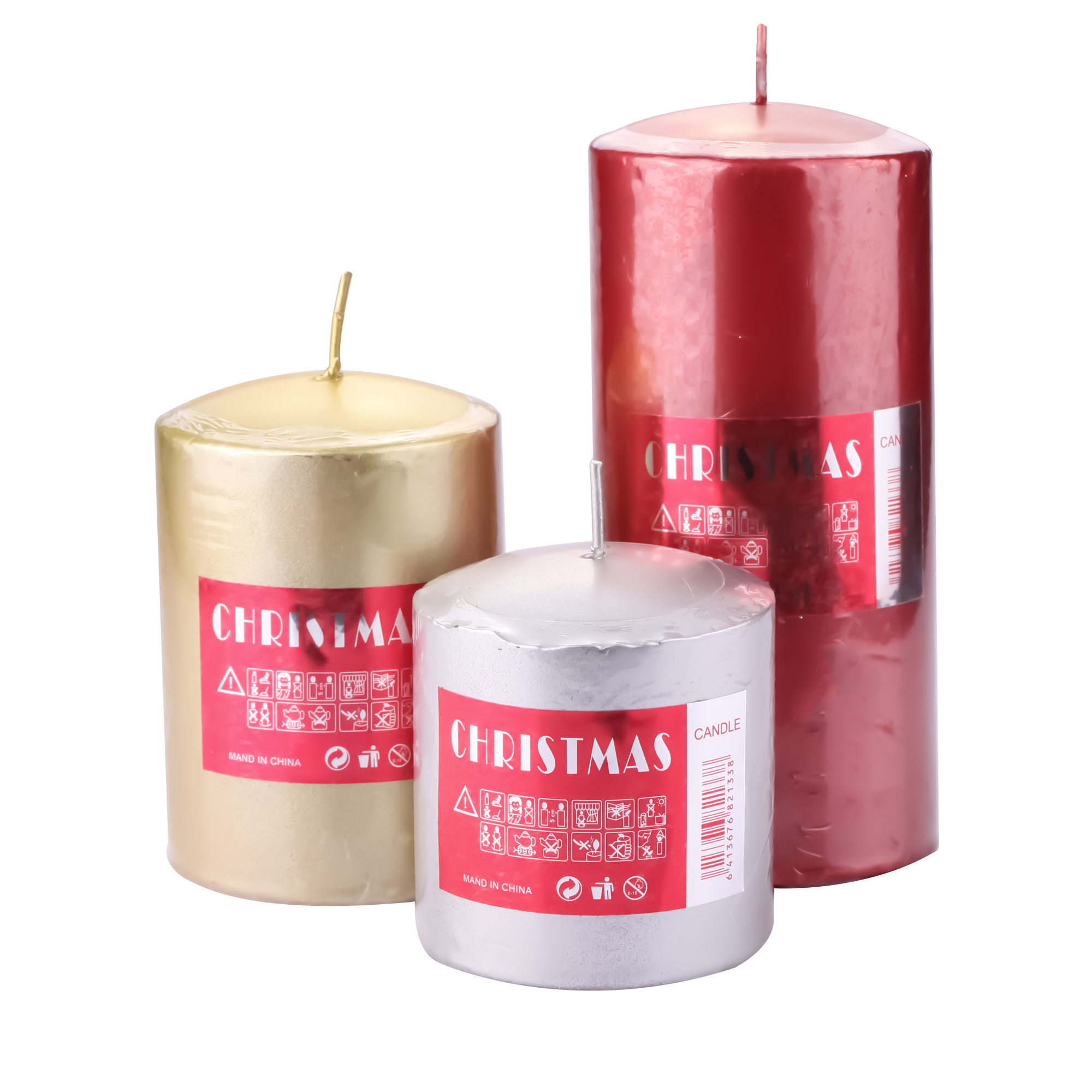 Wax Scent Candles Wedding Favors And Gifts Party Decoration Candele  Home Decor many colors Pillar Aroma Candle Luxury
