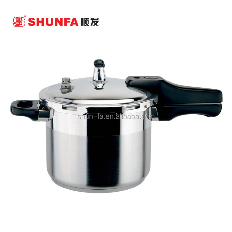SHUNFA Stainless Steel Cookware M-shape Stainless Steel 3.5L Pressure Cooker