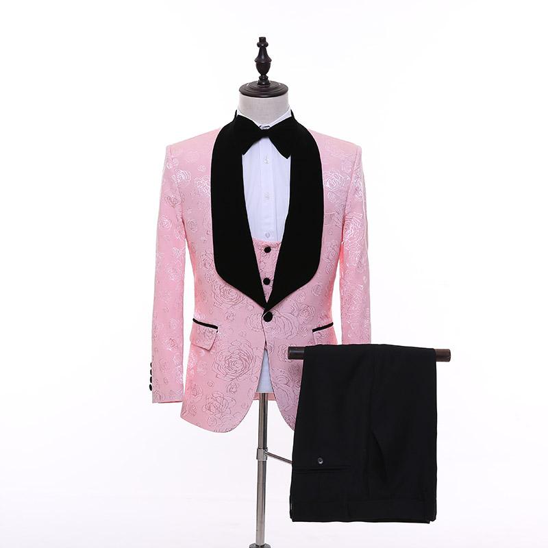 Venta al por mayor smoking rosa-Compre online los mejores smoking ...