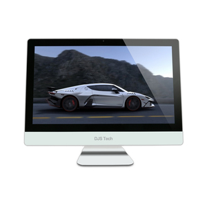 Professional manufacturer cheap desktop computer 21.5 inch i3 white all-in-one pc