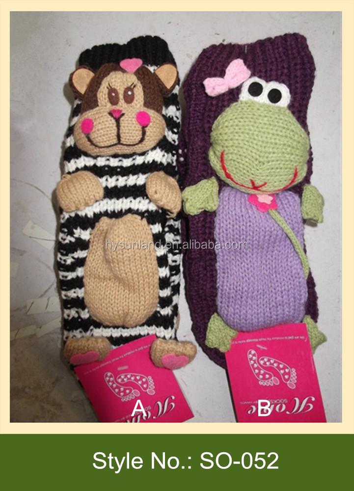 Oem Winter Boden Stricken Affe Socken Handgefertigt Stricken Affe ...