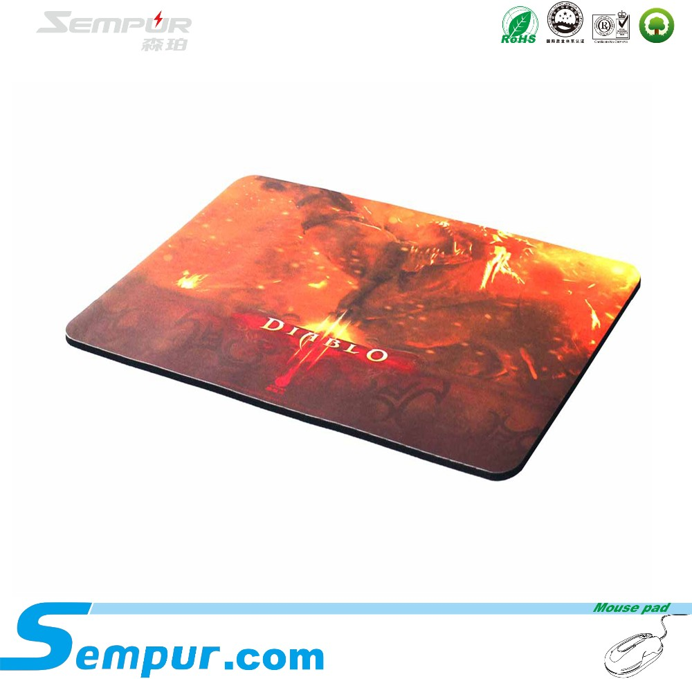 Sempur rubber gaming mouse pad high speed