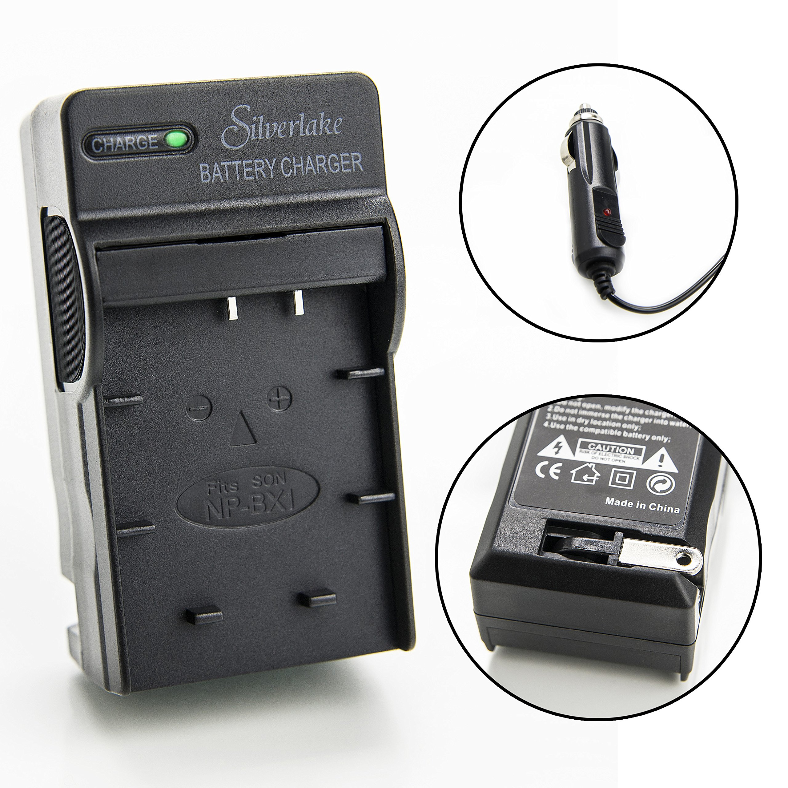 AC//DC Wall Battery Power Charger Adapter for Sony Cybershot DSC-WX350 V//B//N Camera