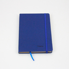 Wholesale hot office supplier beautiful diary book elastic book cover pu leather book cover